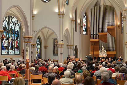 Holy Rosary Chapel Adrian Symphony Orchestra